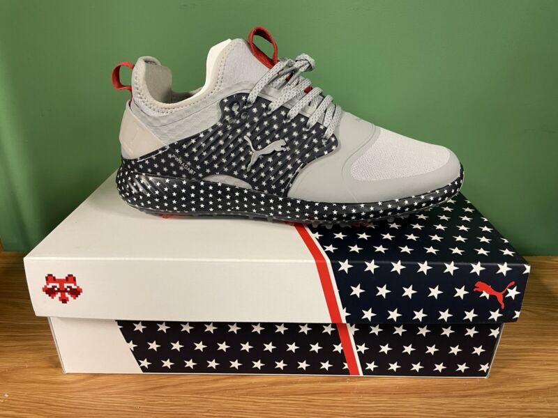 Puma Mens IGNITE PWRADAPT Caged USA Golf Shoes 19470901 - New 2021
