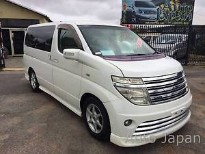 Fabulous Nissan Elgrand - 8 Seater Ultra Luxury Kenwick Gosnells Area Preview