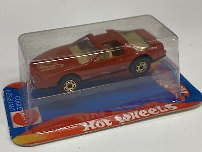 Hot Wheels French Cube 80s Firebird Red Must See