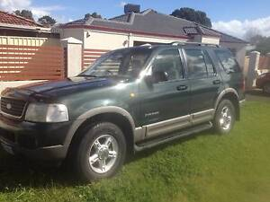 2002 Ford Explorer Wagon Excellent condition Claremont Nedlands Area Preview