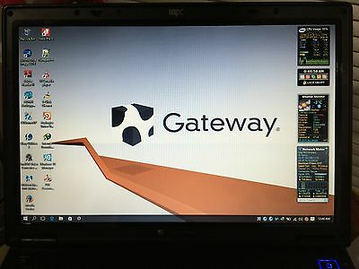 "Gateway E-475 15.4"" ,2.2GHz Intel Core 2 Duo, 2GB,120GB HD,win10 Pro, Office2013"