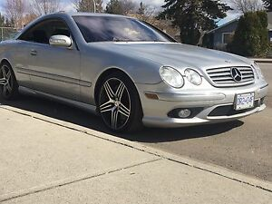 RARE CL 55 AMG  SUPERCHARGED MERCEDES BENZ  500 HP