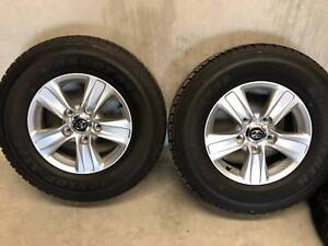 2018 Toyota Landcruiser GXL Rims and Tyres