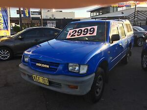 2000 Holden Rodeo dual cab utility Liverpool Liverpool Area Preview