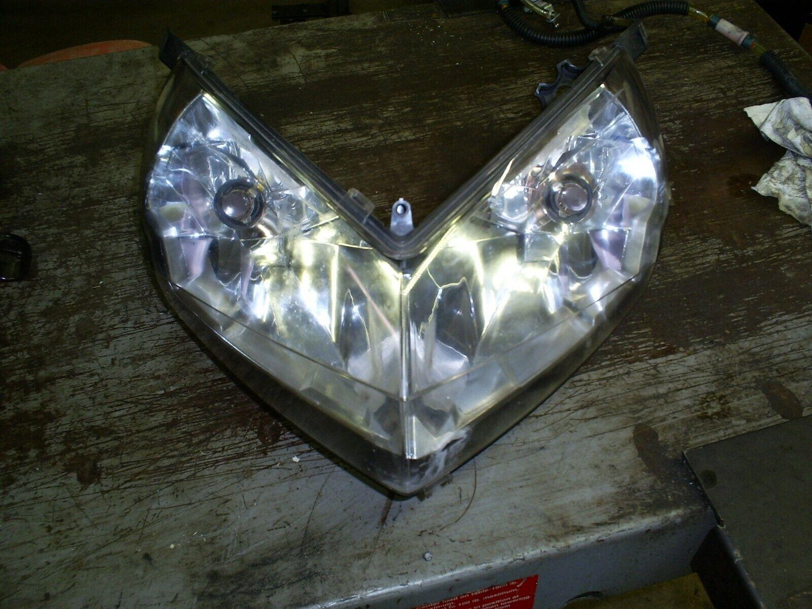 2012 polaris 800 cfi pro r switchback rmk assault headlight assembly