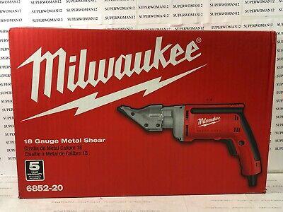 Milwaukee 6852-20 6.8-amp 18-gauge Metal Shear - New
