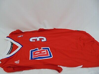 NBA Los Angeles Clippers Chris Paul #3 Replica Road Jersey Large  ()