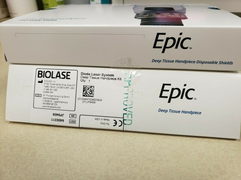 Biolase Epic Deep Tissue Handpiece n.i.b. with shields