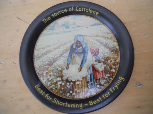 Cottolene Shortening  tip tray Black Americana