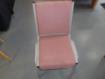 50 Individual Chairs For Assembly Theater Function Hall Church Banquet Used