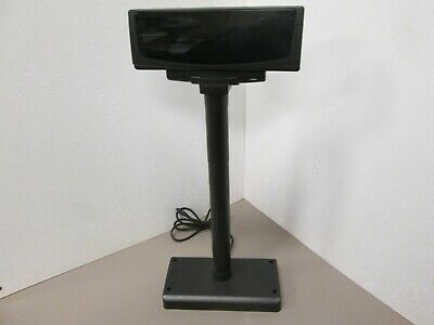 Partner Cd7220-un-gst12usblack Customer Display Pole 12v Pass Through Cd7220