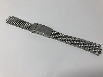 Vintage Heuer Autavia Gay Freres Flip lock Bracelet 1163#11630#1970s#GF#HLF