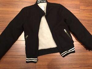 Boys or Girls Fall Winter Jacket - Size 8