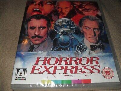 Horror Express (1972) Peter Cushing Arrow Region B Non-U.S. (READ!) NEW Blu-ray