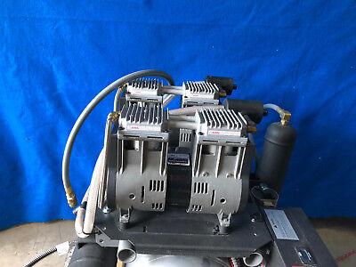 Dental Office Midmark Power Air Oilless Dual Compressor 8144