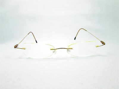 Rimless Metal Women's Designer Eyeglass Frames Glasses
