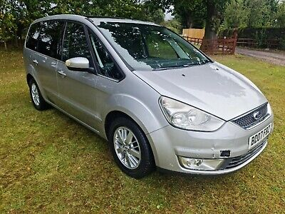 Ford Galaxy Ghia TDCI 6 Speed 7 seater MPV Diesel with MOT runs and drives well