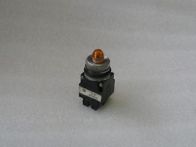 General Electric Orange Indicating Light, CR 104 D116, Used, Warranty