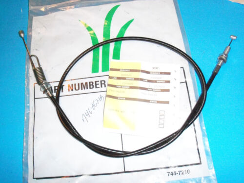 NEW CONTROL CABLE FITS MTD AND MANY BRANDS 746-0621B OEM FREE SHIPPING C8