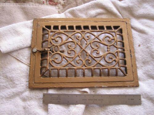 Antique Victorian Ornate Art Deco Heat Vent Cover Nouveau