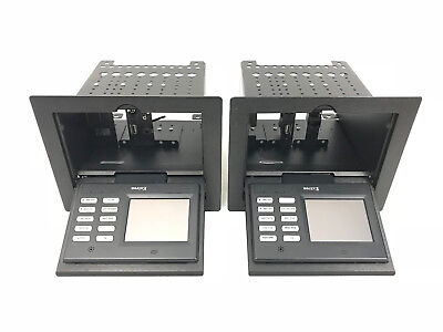 "Lot 2x Extron TLP 350CV US BLACK Touchlink Touchpanel 3.5"" Power Control Panel"