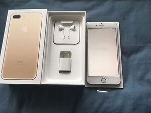 BRAND NEW UNLOCKED IPHONE 7 PLUS 256GB GOLD + 1 YEAR WARRANTY