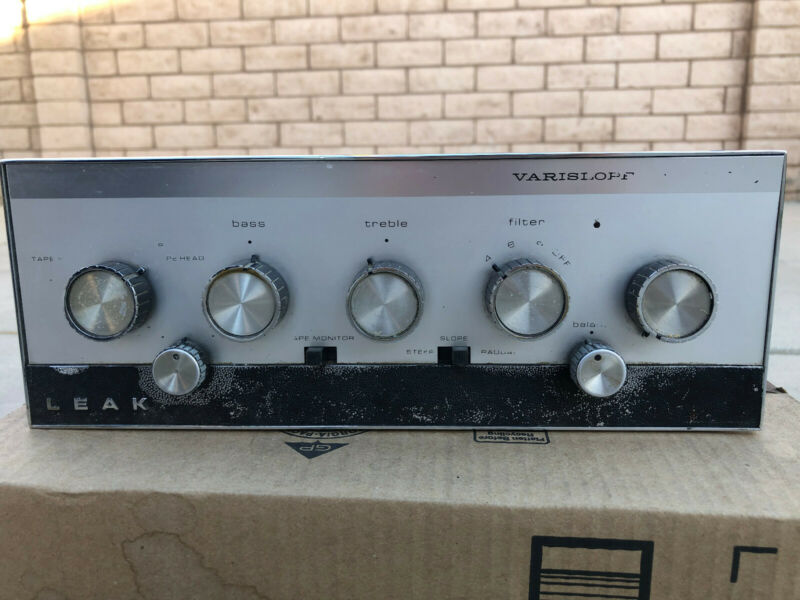 LEAK Varislope 2 Stereo Preamplifier vintage