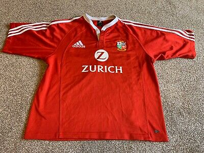 BRITISH LIONS 2005 NEW ZEALAND RUGBY UNION SHIRT BY ADIDAS IN SIZE  XL