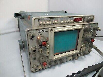 Tektronix Dm44 Analog Oscilloscope 465 1604a
