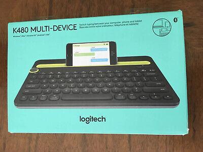 Logitech K480 920-006343 Multi Device Wireless Keyboard