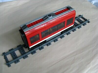Lego CITY TRAIN 7938: MIDDLE PASSENGER CAR...ONLY...VG