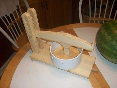 Table Cheese (Table Top Cheese Press)