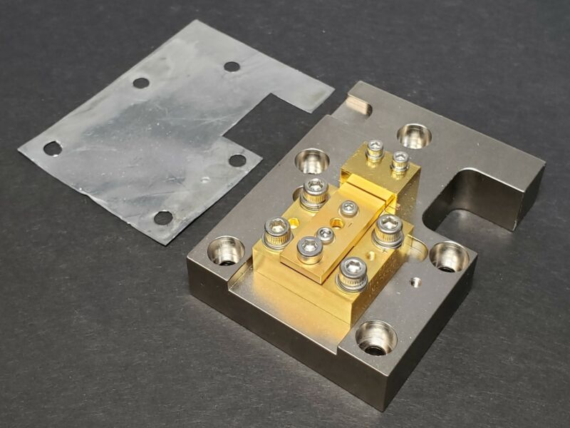 Side Pumped Nd:YAG Rod in Mount w/ 20W 808nm Diode DPSS Laser Gain Module DIY