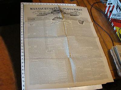 Антикварные и коллекционные VINTAGE NEWSPAPER: MASSACHUSETTS