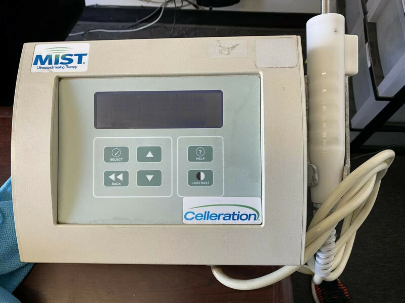 Celleration Inc. Mist Therapy System Therapeutic Ultrasound