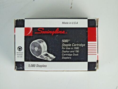 """Swingline Standard Staple Cartridge, 5,000 Staple Count 1/4"""" Leg Length 50050664"""