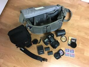 Canon EOS 7D with 15-85mm Lens & professional camera equipment
