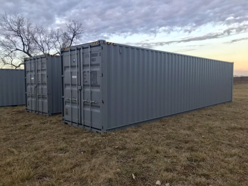New 40ft High Cube Shipping Container - FORT WORTH, TX