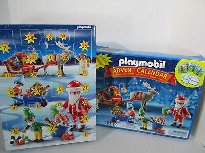 Playmobile Advent Calendar Santa Elves 5494 Christmas Toy 101 Pieces Unopened