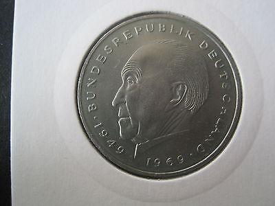 Bund,BRD  2 DM  1969 G - Konrad Adenauer- CuNi-(655)
