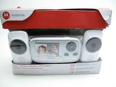 Motorola MBP432-2 Video Baby Monitor System