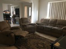 3 Seater Sofa and 2 Recliner Armchairs (Can Delivery) Prestons Liverpool Area Preview