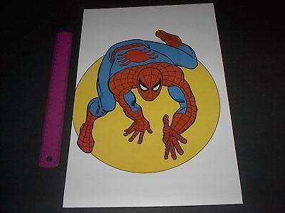 MARVEL COMICS SUPER-HEROES SPIDER-MAN POSTER PIN UP OLD SCHOOL STYLE