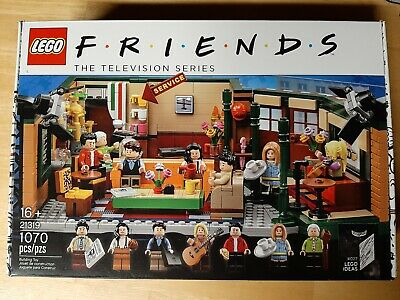 lego friends central perk ideas set 21319 missing *ONE* piece-complete otherwise