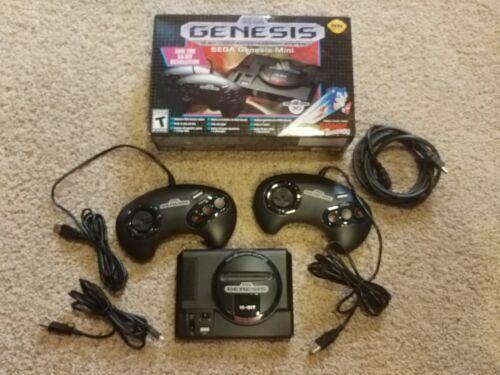Sega Genesis Mini Console; Complete In Box!