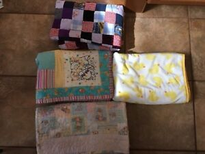 Baby Quilts and a soft blanket