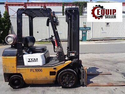 Tcm Fcg25 4600 Lbs Forklift