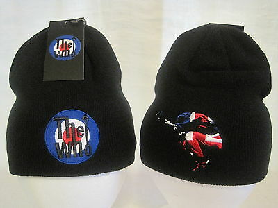 The Who Beanie Knit Cap Hat Headwear Daltrey Moon Rock Band Apparel New RO01