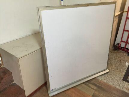 Whiteboard. 120x120cm.  Potts Point Inner Sydney Preview