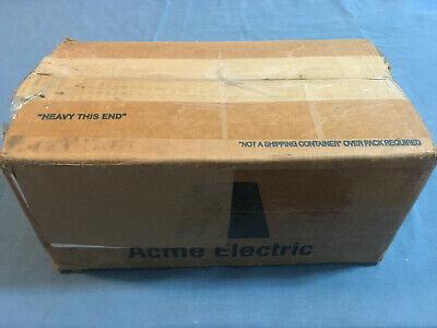 New Acme Electric Tf279260s Export Transformer 1kva 120240v Wall Sealed